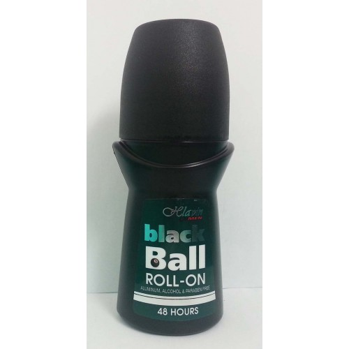 Hlavin Black Ball Roll-on Deodorant 48H For Men