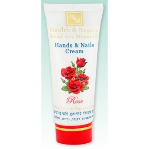 H&B Dead Sea Hands & Nails Cream Roses 100ml