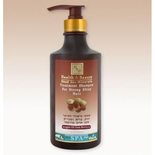 H&B Dead Sea Moroccan Aragan Oil Treatment Shampoo 780ml