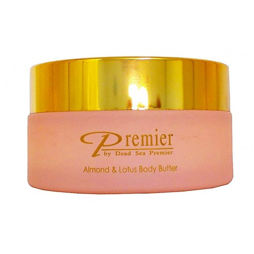 Dead Sea Premier Body Butter Almond & Lotus